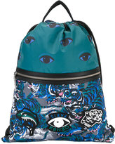 Kenzo multi icon backpack - men - Polyester - One Size