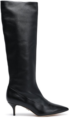 Paul Andrew Nadia Leather Knee Boots
