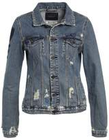 Scotch & Soda TRUCKER VINTAGE PATCH Denim jacket blue denim