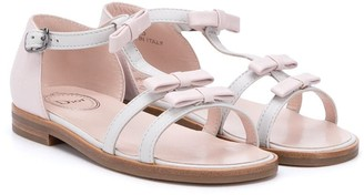Christian Dior Bow Detail Sandals