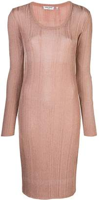 Opening Ceremony knitted midi dress