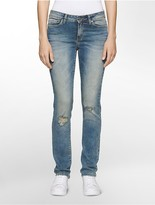 Calvin Klein Ultimate Skinny Distressed Jeans