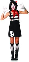 Leg Avenue Junior's 4 Piece Miss Mime Costume