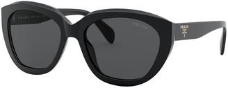Prada Acetate Cat-Eye Sunglasses