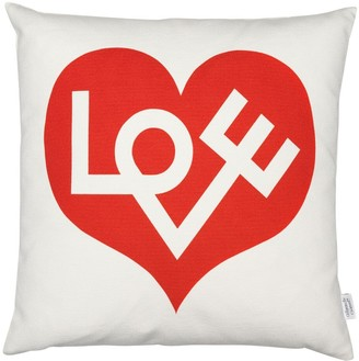 Vitra Graphic Print Pillow Love Red