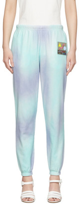 Marc Jacobs Purple and Green The Airbrushed Lounge Pants