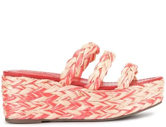 Schutz Braided Wedge Espadrilles