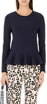 Marc Cain Peplum Top, Navy