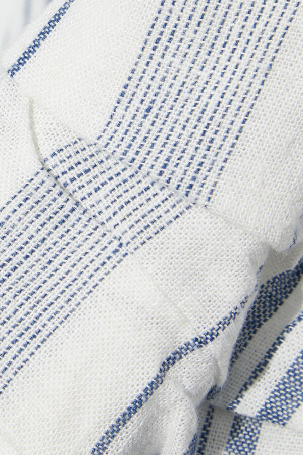 Thumbnail for your product : DKNY Striped Woven Blazer