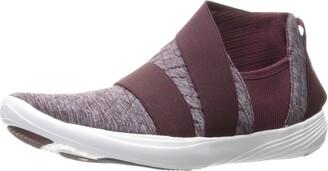 Under Armour Women's Street Precision Slip Metallic Sneaker 916/Raisin Red 7