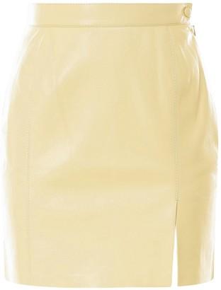 Nanushka Gima Split Hem Skirt
