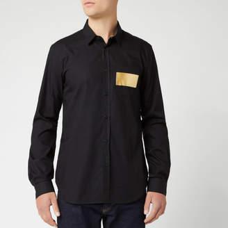Versace Men's Long Sleeve Shirt