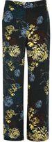 River Island Womens Blue floral print wide leg pants