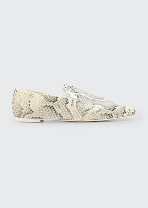 Mercedes Castillo Eugenie Mixed Print Flat Loafers