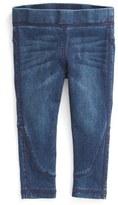 Joe's Jeans Infant Girl's 'Off Duty' Denim Leggings