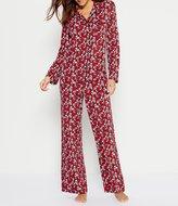 Cabernet Scroll Floral Pajamas