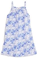Vineyard Vines Girls' Bermuda Scene Print Shift Dress - Big Kid