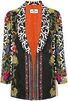Etro jacquard blazer - women - Silk/Viscose - 44