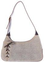 Salvatore Ferragamo Suede & Leather Shoulder Bag