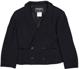 Chanel Navy Cotton Jackets