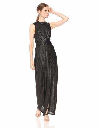 BCBGeneration Women's Front WRAP Maxi Dress