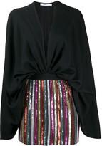 Amen sequin embellished short dress