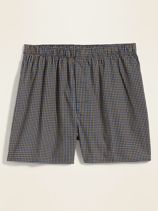 Old Navy Soft-Washed Printed Boxer Shorts for Men