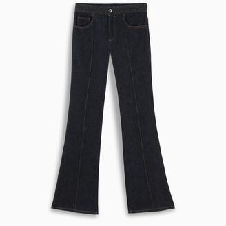 Chloé Braided flare jeans