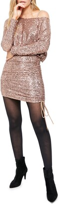 Free People Giselle Sequin Minidress