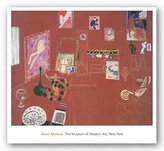 "McGaw Graphics The Red Studio by Henri Matisse 22.25""x27.5"" Art Print Poster"