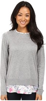 NYDJ Key Item Mixed Media Sweater