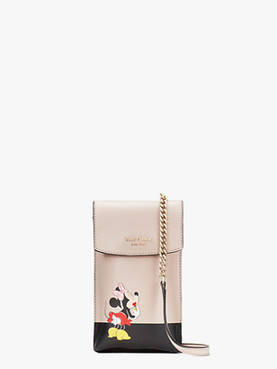 Kate Spade For Minnie Mouse North South Flap Phone Crossbody