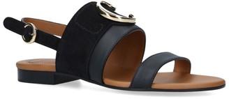 Chloé Leather C Sandals