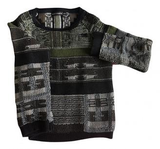 Antik Batik Khaki Cotton Knitwear