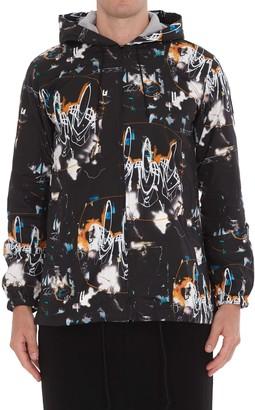 Comme des Garçons Shirt Futura Print Hoodie