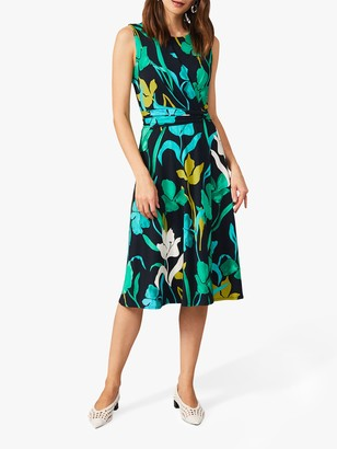 Phase Eight Catalina Floral Midi Dress, Multi
