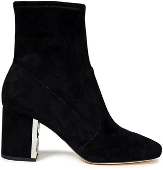 Tory Burch Stretch-suede Ankle Boots
