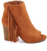 Wild Diva Whisky Fringe Jamie Ankle Boot