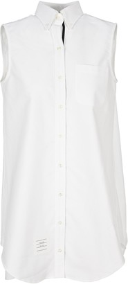 Thom Browne Sleeveless Shirt Dress