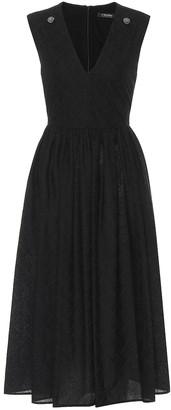 S Max Mara Anzio cotton-voile midi dress