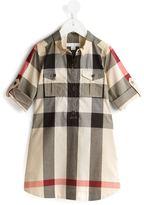 Burberry Nova Check dress - kids - Cotton - 4 yrs
