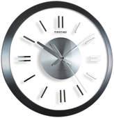 Asstd National Brand FirsTime Modish Gunmetal Wall Clock