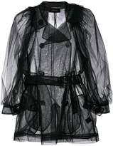 Simone Rocha sheer belted jacket