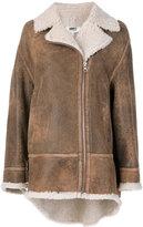 MM6 MAISON MARGIELA oversized Sand jacket