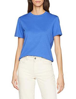 Selected Women's Slfmy Perfect Ss Tee Box Cut Color T-Shirt,14 (Size: Large)