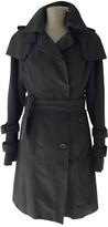 Twenty8Twelve By S.miller Grey Cotton Trench Coat for Women