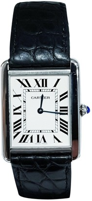 Cartier Tank Solo White Steel Watches