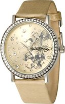 Ed Hardy Women's Despina DE-YW Satin Quartz Watch with Dial