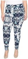 Hue Plus Size Bouquet Essential Denim Leggings Women's Jeans