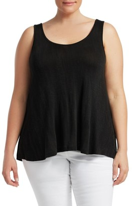 Slink Jeans, Plus Size Relaxed-Fit Cotton Tank Top